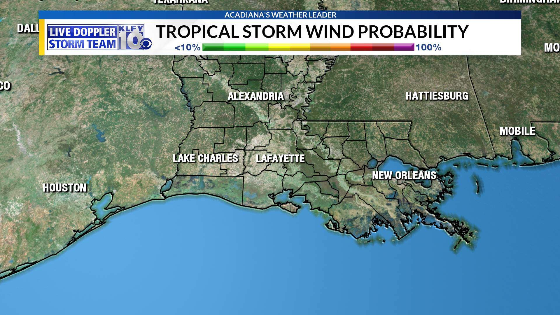 Tropical Storm Wind Probability
