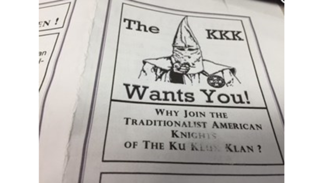 Residents in Natchitoches find KKK letters in their front lawns