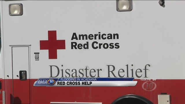 U.S. Army Retired Lt. General Honore' talks about Red Cross disaster relief progress
