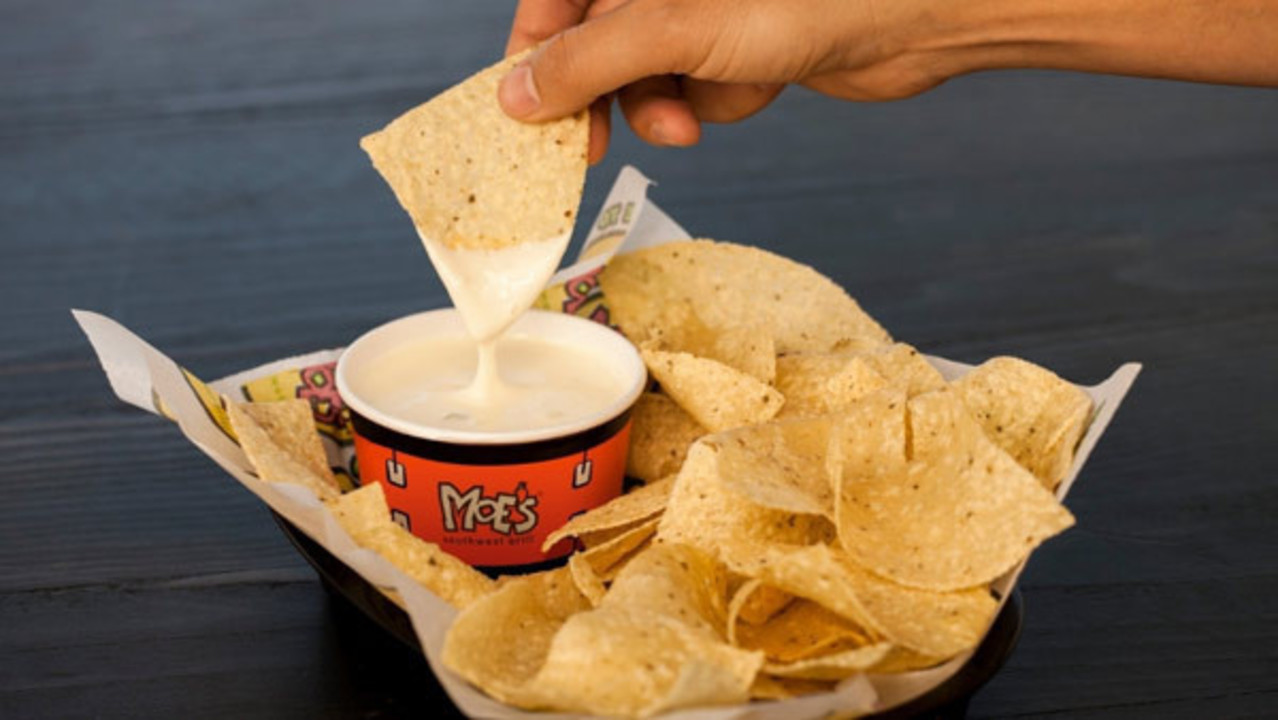 Free Queso And Chips Today At Moes No Purchase Necessary 7400n Chip