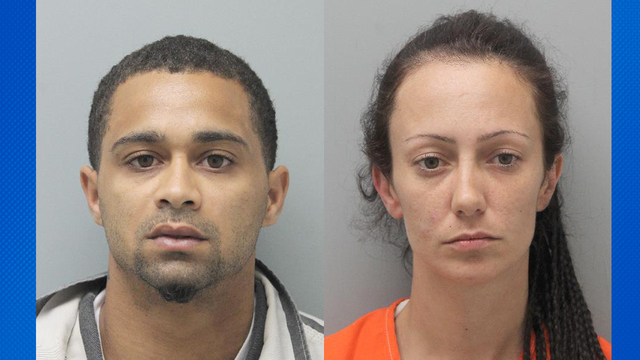 Two arrested in Abbeville after search of residence results in large