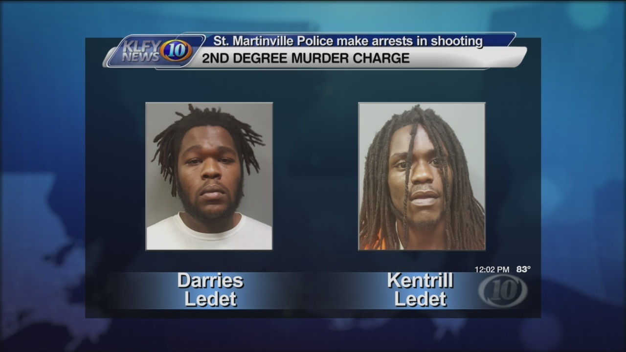 Arrest made in St  Martinville shooting