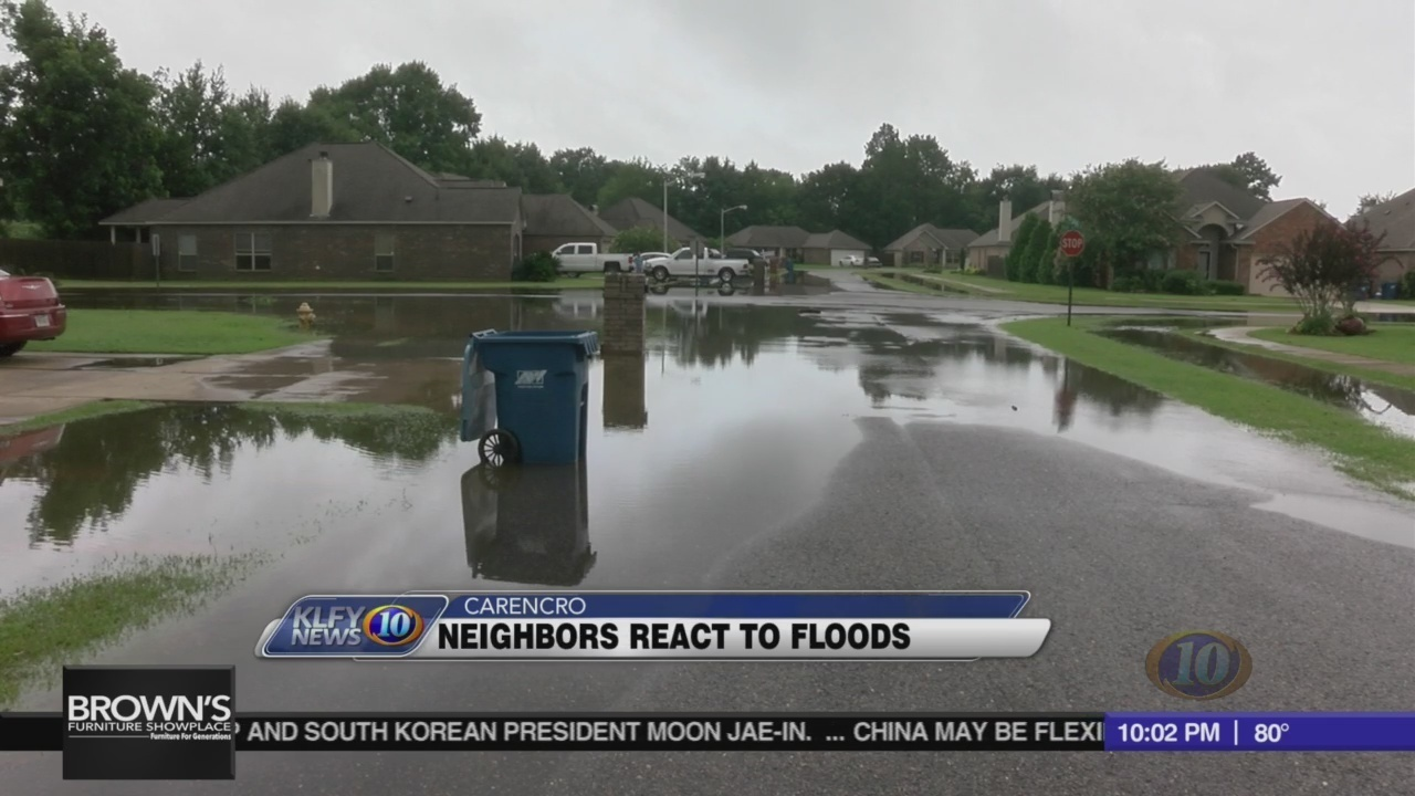 What to do: flooded neighbors