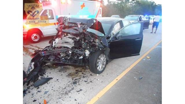 Sheriff's deputy airlifted after drunk driver hits vehicle on I-10 in St. John the Baptist Parish