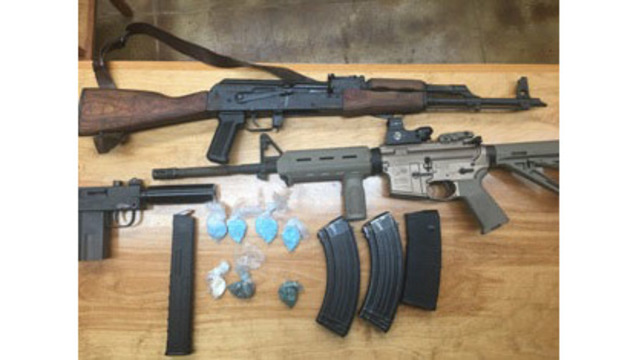 Abbeville father and son arrested on drug, firearm charges