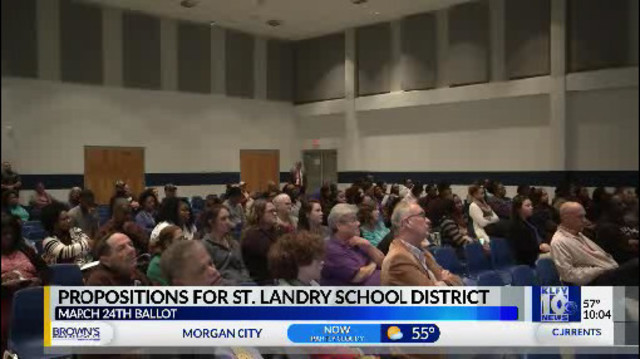 Tempers Flare During St Landry Parish School Board Meeting