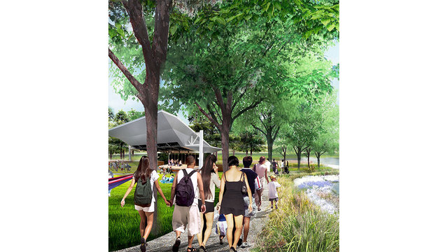 The former Horse Farm, Lafayette's central park moves forward with groundbreaking
