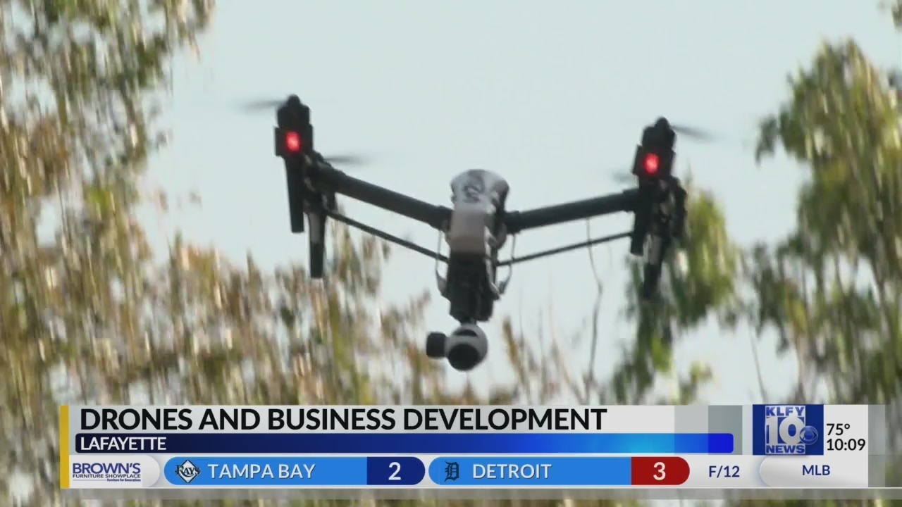 Lafayette drone company, FlyGuys, on the cutting edge of drone boom - KLFY