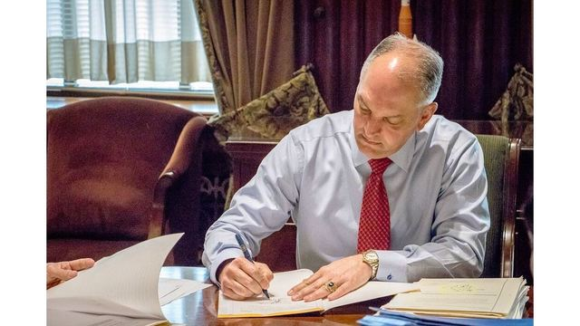 NOTICE: Bills Signed, Vetoed by Gov. John Bel Edwards Wednesday