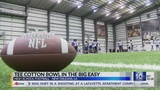 Tee Cotton Bowl invades New Orleans Saints facility for special practice