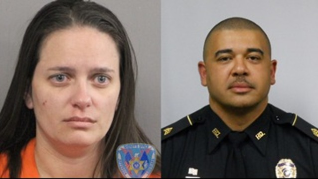 Attorney says wife of slain JP officer is innocent