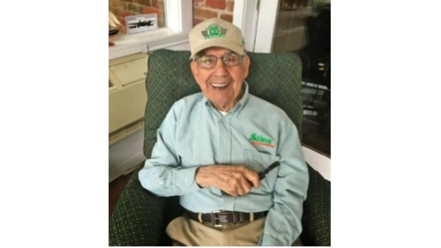 J.W. Stine, founder of Stine Lumber, to celebrate 100th birthday