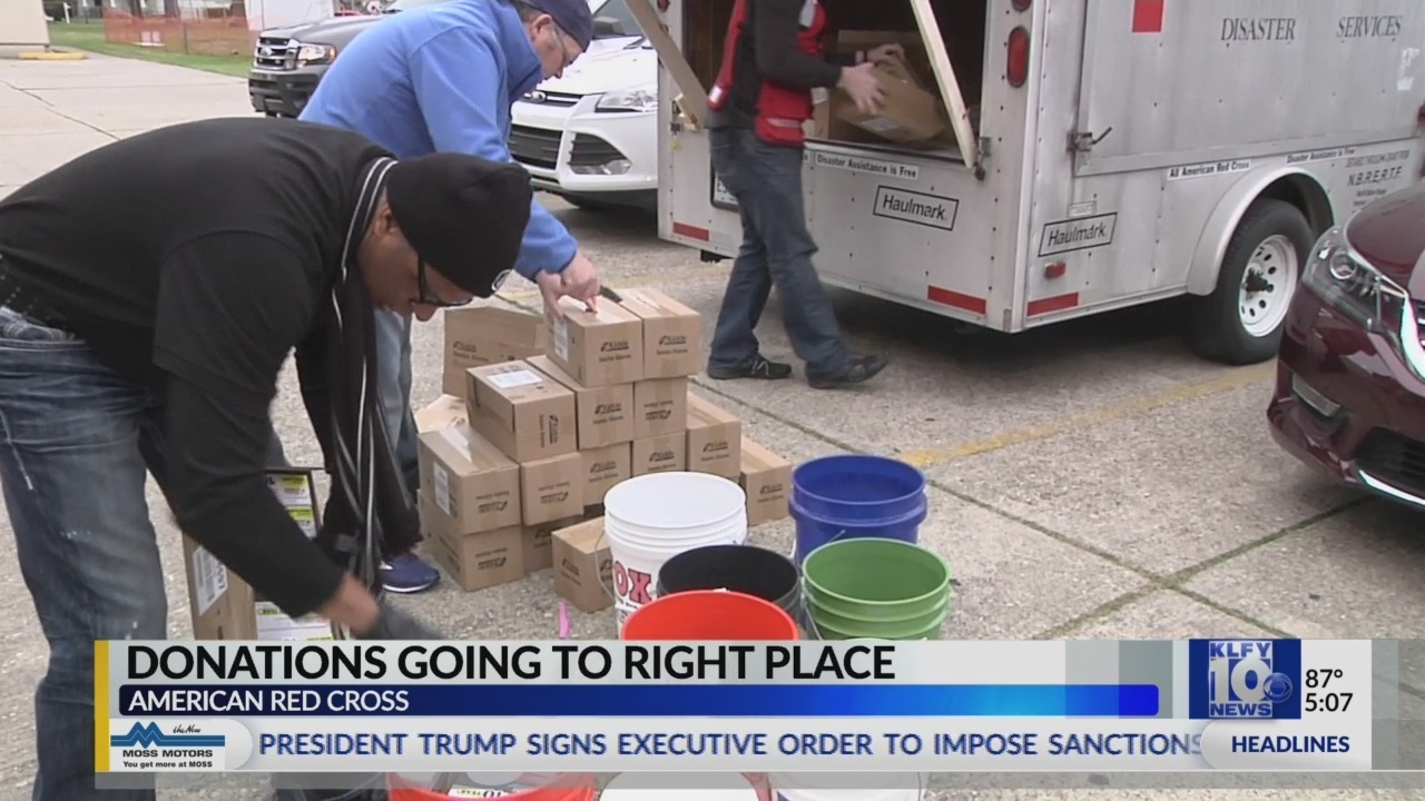 American Red Cross Donations Ahead Of Hurricane Florence