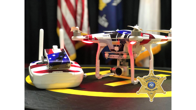 St. Mary Parish Sheriff's office is getting a drone to help fight crime
