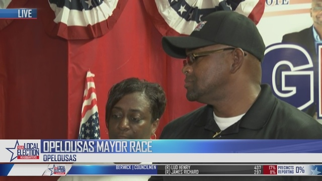 Opelousas election results