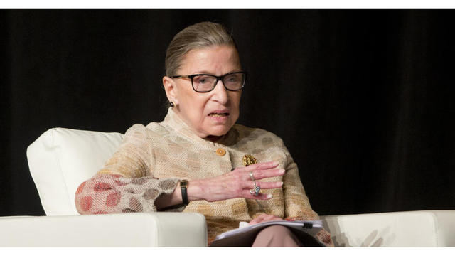 Justice Ruth Bader Ginsburg hospitalized after fracturing 3 ribs in fall