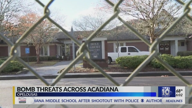 Acadiana Target Of Nationwide Robo Email Bomb Threat