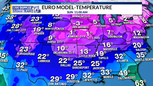 Cooler temperatures near-term, winter could return with force for latter part of January