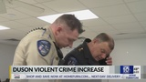 Duson police report an increase in violent crime cases&#x3b; auto theft lower