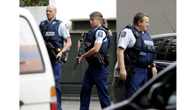 Police say active shooter situation reported in Christchurch, New Zealand