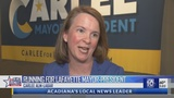 Carlee Alm-Labar, President of Fix the Charter PAC, announces she is running for Mayor-President