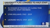 University of Louisiana at Lafayette flags at half staff in honor of late longtime employees