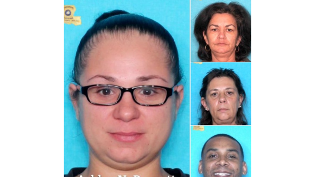 Troopers seek public's help in locating four wanted for fraud