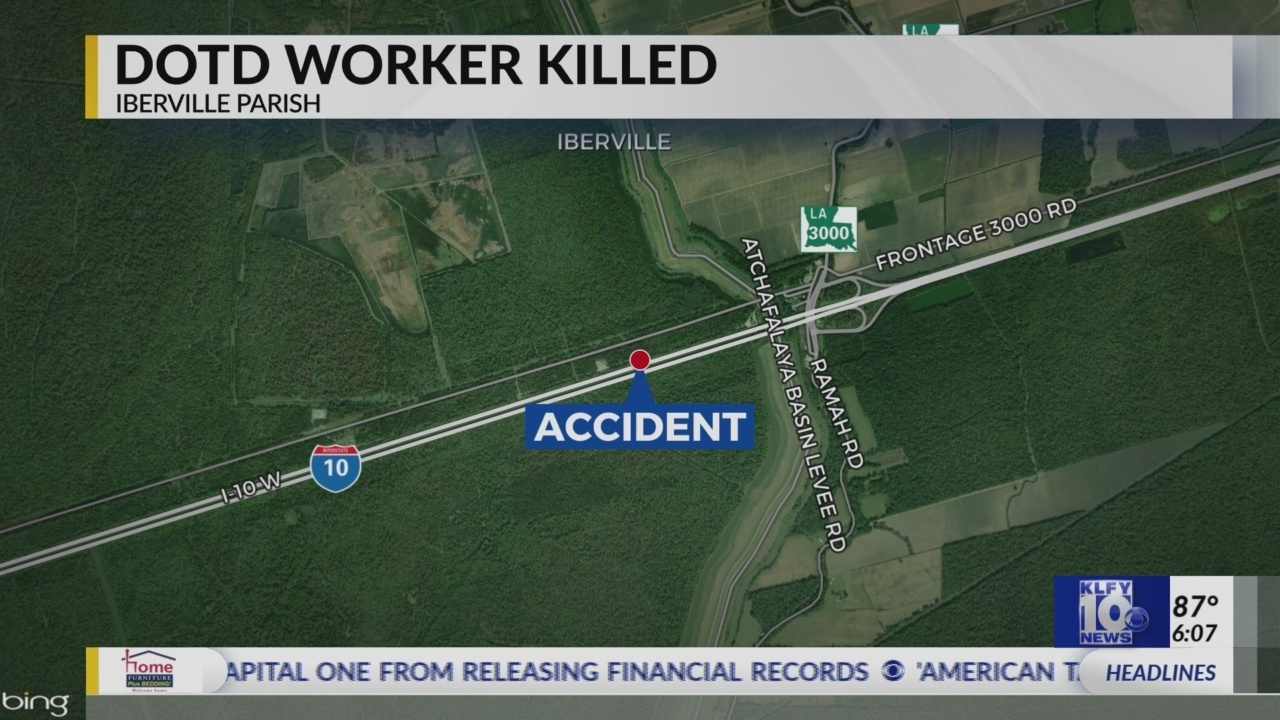UPDATE: DOTD worker killed on Basin Bridge identified