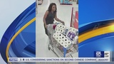 Woman caught on camera stealing toilet paper and Vodka