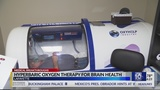 Hyperbaric oxygen therapy helps man's brain injury