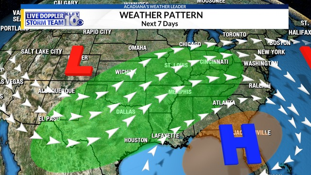WEATHER BLOG: Nice weather near term, moisture and rain