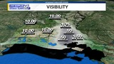 Areas of Fog Start Tuesday with Isolated Rain and Hotter Weather for this Afternoon